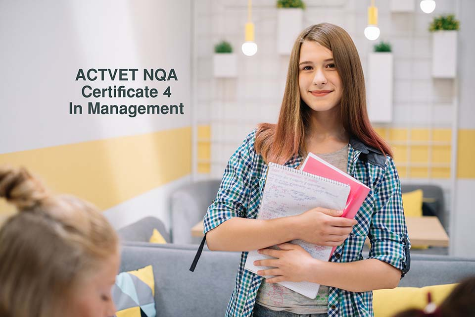 business management, ACTEVET,Foundation Program (ACTVET NQA Certificate 4 In Management)
